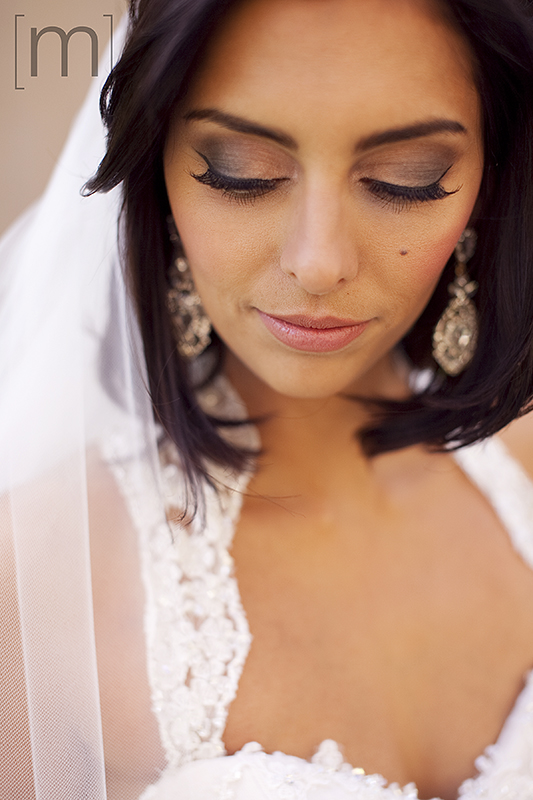 a wedding photo of the bride at berkeley field house toronto