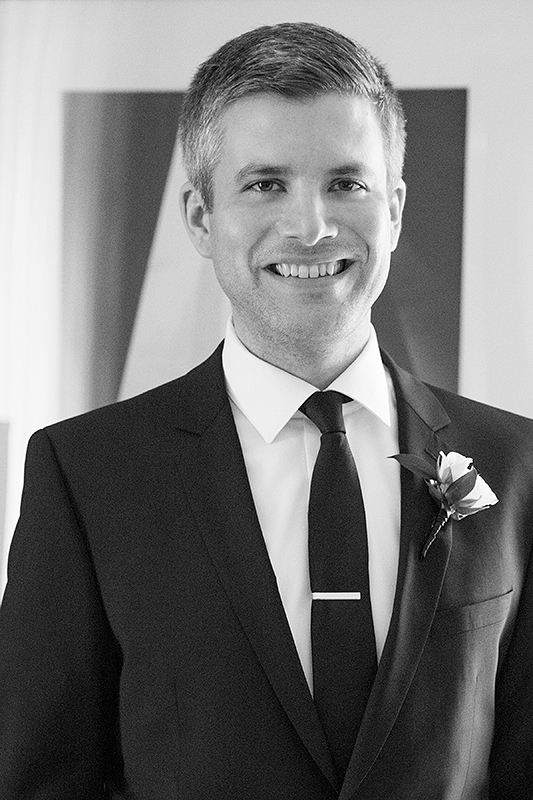 a photo of the groom at king edward hotel at a wedding in toronto