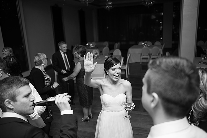 a photo of the guests dancing at a wedding reception at the rosewater toronto