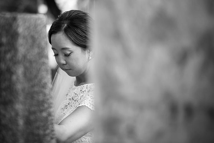 a photo of a bride at a wedding in toronto