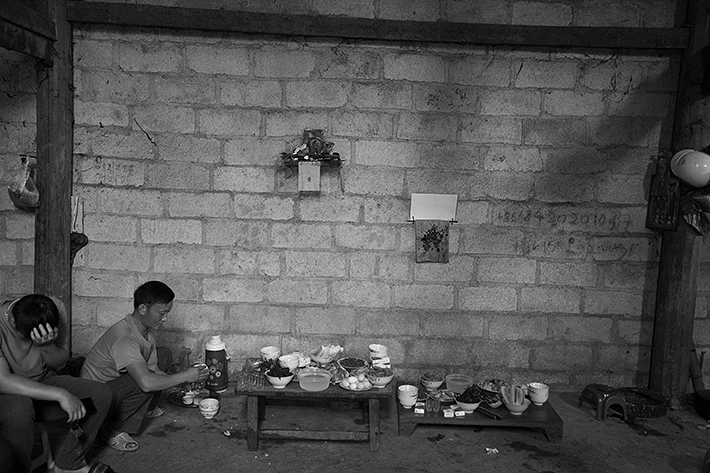 a travel photo from northern vietnam plan canada foster family lunch time prep at home