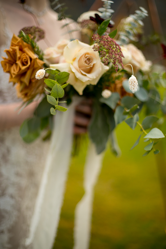 a styled wedding flower details pemberton british columbia