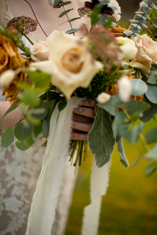 a styled wedding flowers and tattooed hearts pemberton british columbia