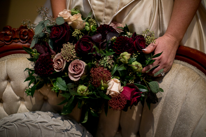 a fall wedding of the bouquet at the salon westwood plateau golf club coquitlam british columbia