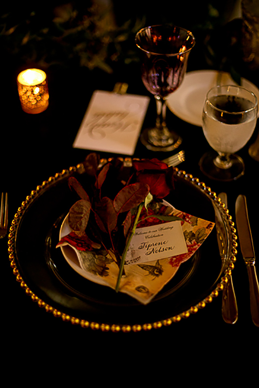 a fall wedding of the reception details brides table at the westwood plateau golf club coquitlam british columbia