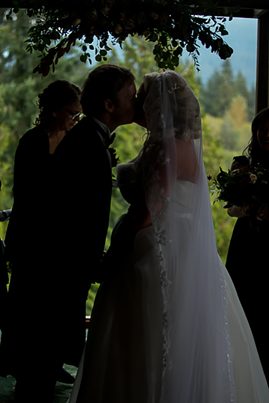 a fall wedding of the ceremony at the westwood plateau golf club coquitlam british columbia