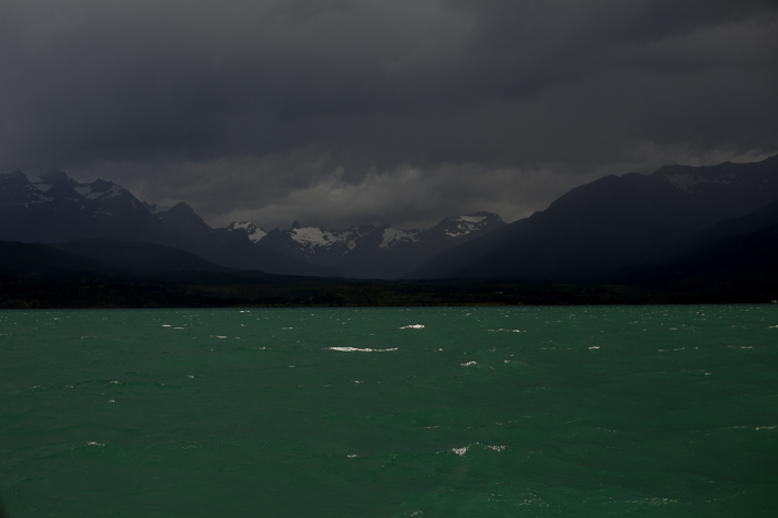 a travel photo of turquoise water in los glaciares national park in torres del paine chile south america