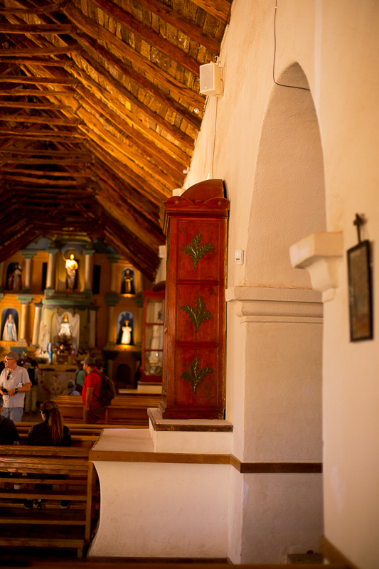 a travel photo of a church in san pedro chile south america