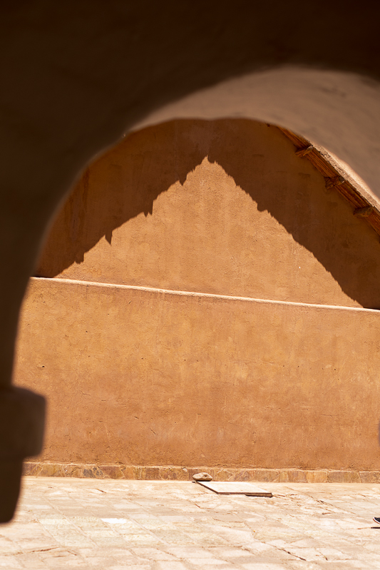 a travel photo of a shadow reflection in san pedro chile south america