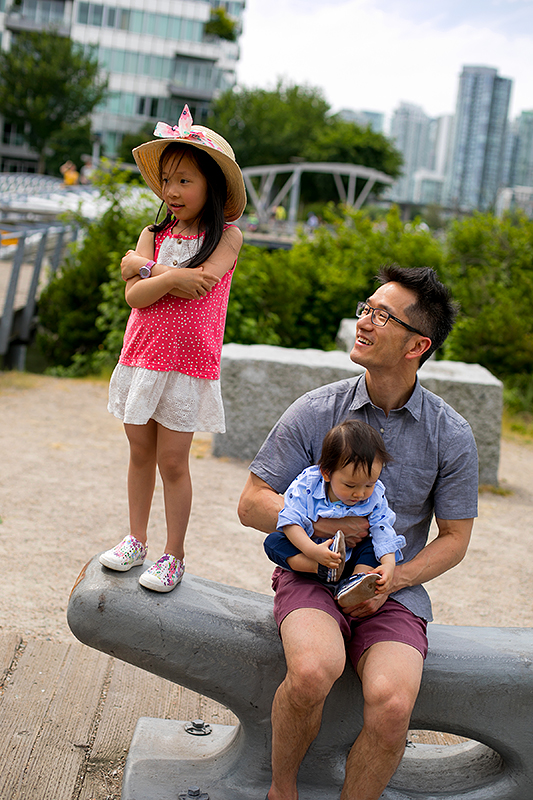 a photo of a family at the science world harbourfront anchor vancouver british columbia