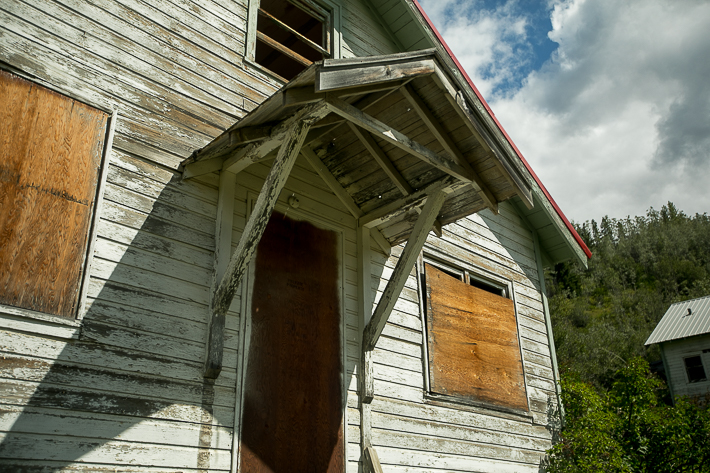 xa travel photo of an abandoned town pemberton british columbia