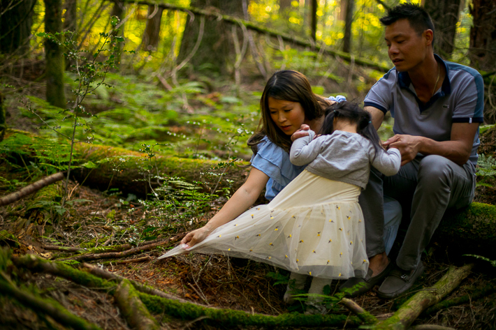 family photography pacific sprit park bc